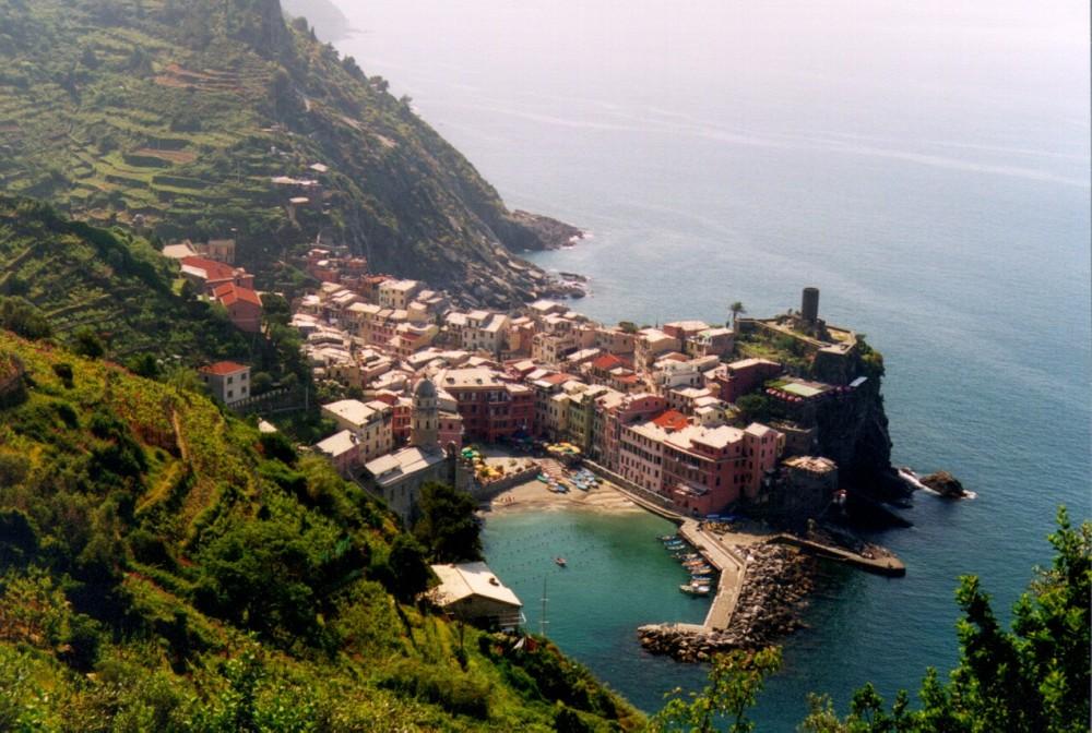 Cinqueterre, een Italiaanse rotsidylle