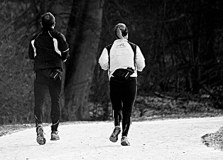 Winterrun. Bron: Flickr, jon smith