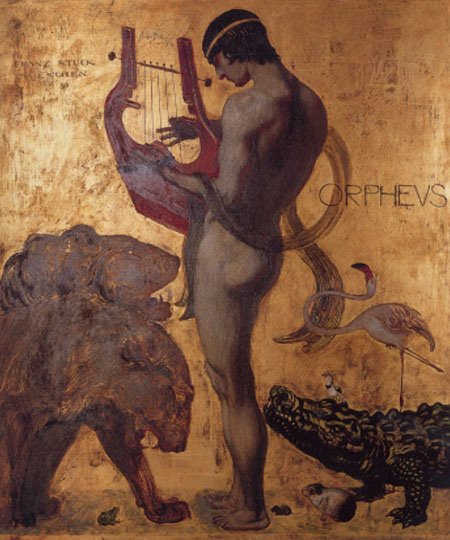 Orpheus, door Franz von Stuck (1891)