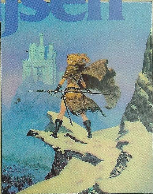 Illistratie op de omslag van Iskander de Dromendief, Wim Gijsens derde fantasyroman, verschenen in 1982.