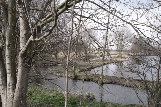 Winters landschap langs het Groenehartpad bij Delft. Foto: Frank Flippo