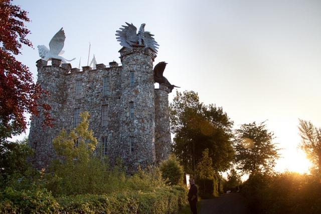 De drakentoren in Eben Emael, vlak over de grens bij Maastricht