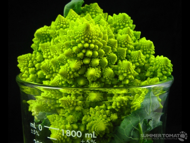 Romanescobroccoli. Bron: SummerTomato, Flickr
