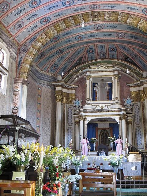 De kerk in Tzintzuntzàn. Foto: Los viajes del Cangrejo, IMG_9464, Flickr