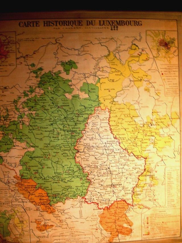 historische kaart luxemburg