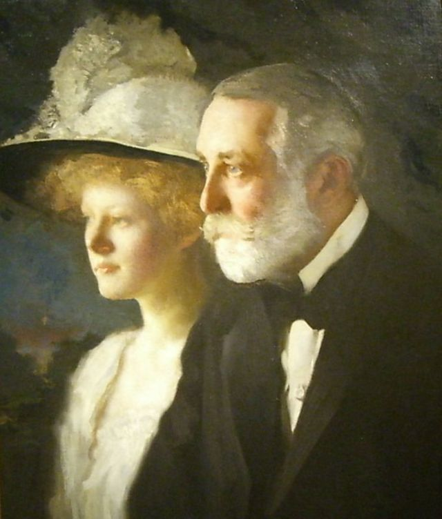 helen and henry van Jay Cross